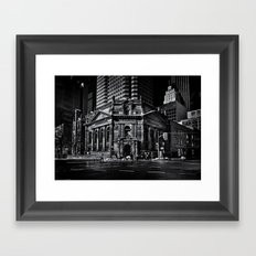 The Hockey Hall Of Fame Toronto Canada Framed Art Print