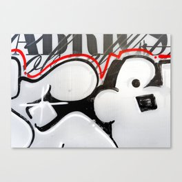 City Lovers - Urban Graffiti Canvas Print