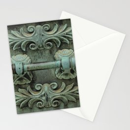 Copper door knob Stationery Cards