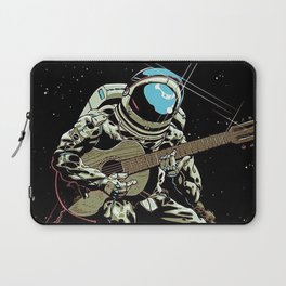 Space Guitar Player Laptop Sleeve