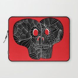 Love Skulls Laptop Sleeve