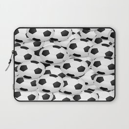 Soccer Ballls Laptop Sleeve