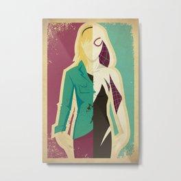 Spider Gwen Metal Print