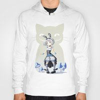 alice Hoodies featuring Alice by Freeminds