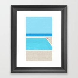 pool-5 Framed Art Print