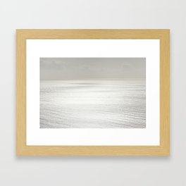 Above The Sea Framed Art Print