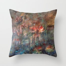At the Fen Throw Pillow