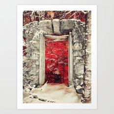 Hellish Warmth Art Print