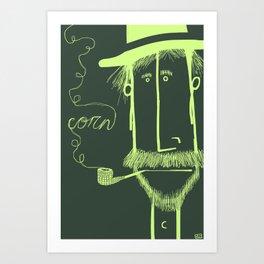 Corn Billy Art Print