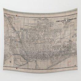 Toronto 1916 Wall Tapestry