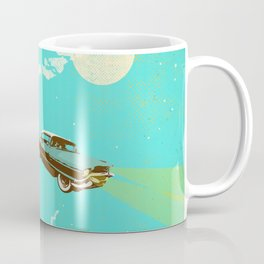 VINTAGE FLYING CAR Coffee Mug