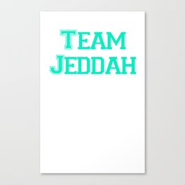 Team KSA Canvas Print