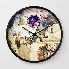 stepped out of a dream Wall Clock