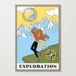 Exploration Canvas Print