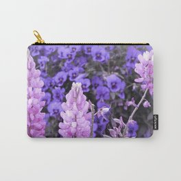 Lively Lupines Carry-All Pouch