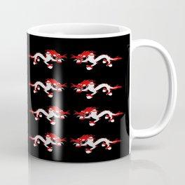 dragon and fire (druk) Coffee Mug