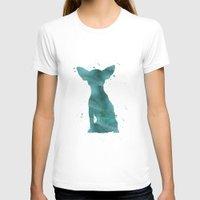 chihuahua T-shirts featuring Chihuahua by Carma Zoe