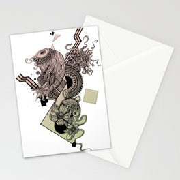evolutionfish Stationery Cards