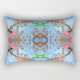 """Papel Picado Kaleidoscope"" by Murray Bolesta Rectangular Pillow"