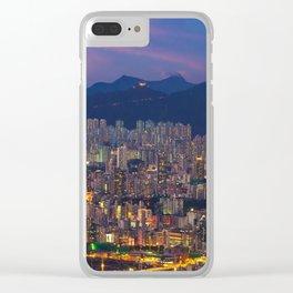 HONG KONG 26 Clear iPhone Case