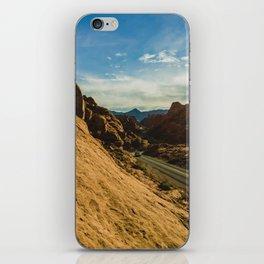 driving through fire iPhone Skin