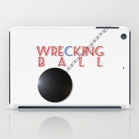 miley cyrus iPad Cases featuring Wrecking Ball - Miley Cyrus by kirstenariel