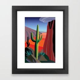 Gringo Pass Framed Art Print