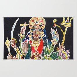 Goddess Durga Rug
