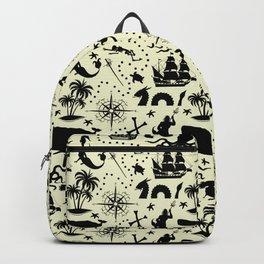 High Seas Adventure // Yellow Backpack
