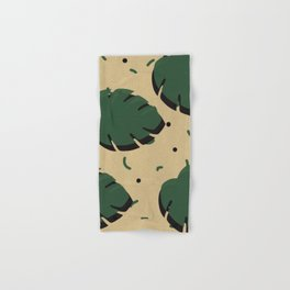 Monstera leaf 1 Hand & Bath Towel