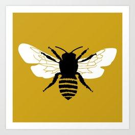 Bee world Art Print