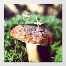 Mushroom Ballet Canvas Print