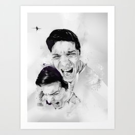 100 Days of Chaos Art Print