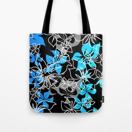 Dancing Hibiscus Hawaiian Aloha Shirt Print Tote Bag