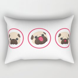 Pug Life Rectangular Pillow