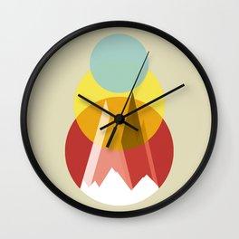 Mountain in My Memory Wall Clock