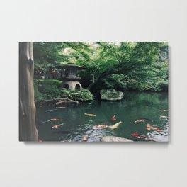 Happoen Garden Metal Print
