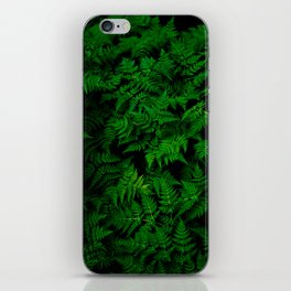 Deep Forest Ferns iPhone Skin