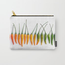 Hot Pepper Gradient Carry-All Pouch