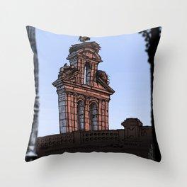 Bell Gable (color) Throw Pillow