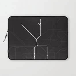 London Underground Northern Line Route Tube Map Laptop Sleeve