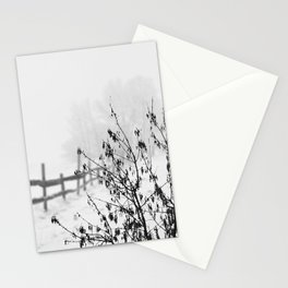 Snowy Landscape Stationery Cards