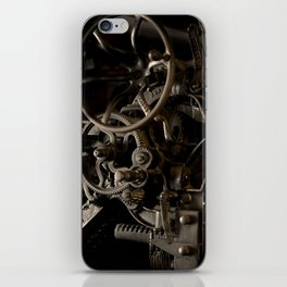 Industrial movement iPhone Skin
