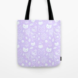Herb Witch // Purple Pastel Tote Bag