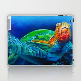 Early Riser - Sea Turtle Laptop & iPad Skin