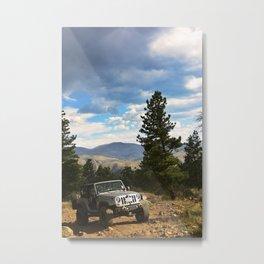 The Mountain: Climbed Metal Print