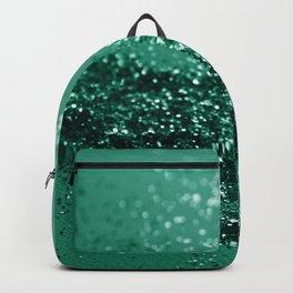 Sparkling EMERALD Lady Glitter #1 #shiny #decor #art #society6 Backpack