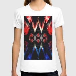 Shifted Red, White, & Blue T-shirt