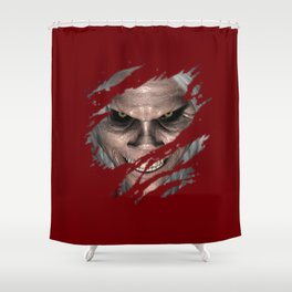 The Old Man Monsters  Shower Curtain