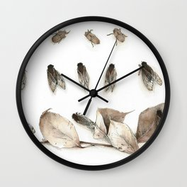 Cicada Display No. 2 Wall Clock